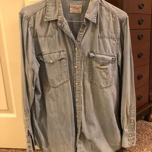 Polo Jean button up Size L